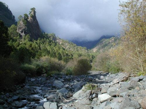 Wandern auf La Palma: In der Caldera