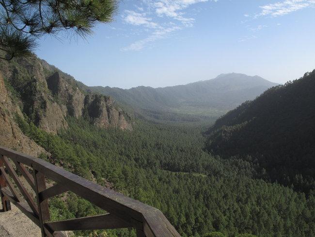 Unterwegs zum Mirador del al Cumbrecita