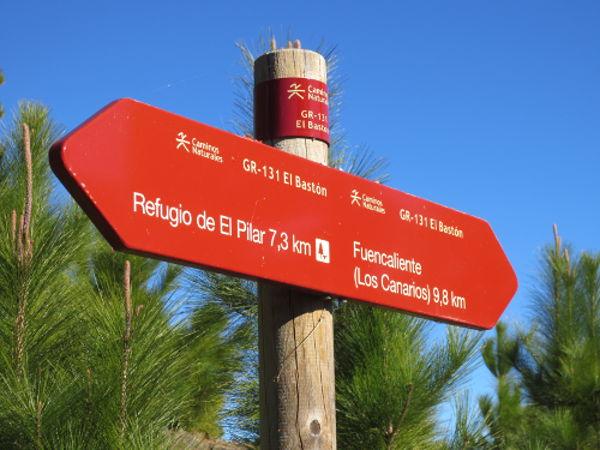 Wandern auf La Palma: Wegweiser