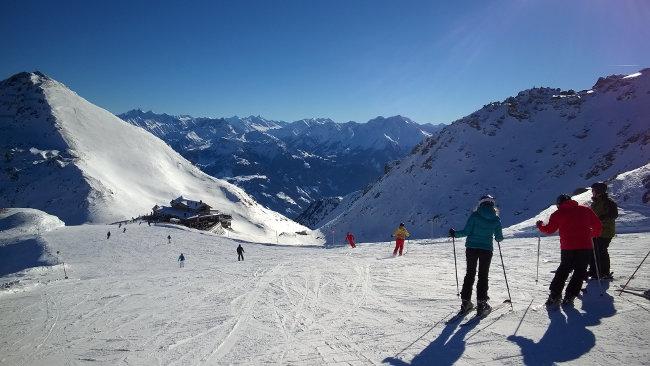 Skifahren im Zillertal